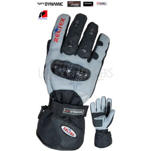 RTX Hydro Dynamic Winter Warm Textile Pro Motorcycle Gloves