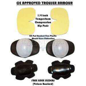 Trouser CE Approved Internal Armour Padding