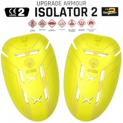 Forcefield Isolator PU Level 2 Shoulder Protection Jacket Armour Inserts - Pair