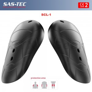 SAS-TEC Motorcycle Biker Body Armour Inserts for Elbow & Knee Protection CE Level 2