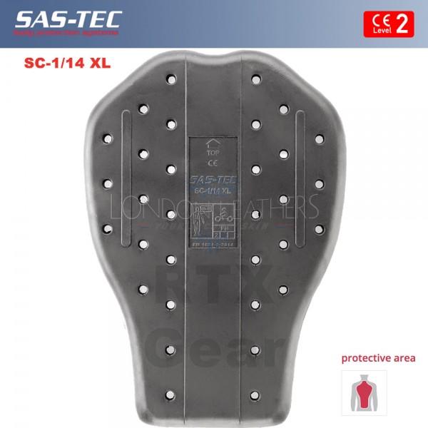 SAS-TEC German Engineered Race Grade Motorcycle Biker Back Spine Protection CE Level 2 Motorbike Jacket & Suit Insert