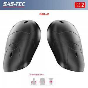 SAS-TEC Motorcycle Biker Body Armour Inserts for Shoulder Protection CE Level 2