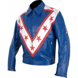 Evel KNIEVEL Wembley Tribute Leather Jacket