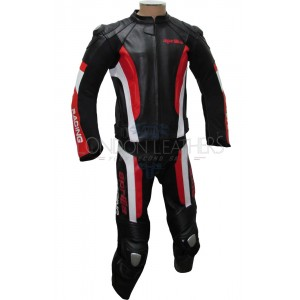 Aprilia RSV Racing Motorcycle Leather Suit