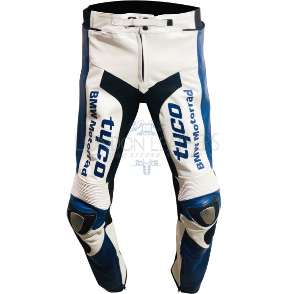 Tyco BMW Team Race Replica Edition Leather Biker Trouser Pants