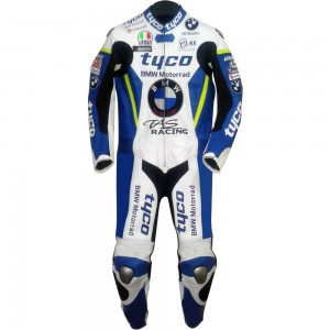 BSB Tyco BMW TAS Racing Team Replica Race Leathers