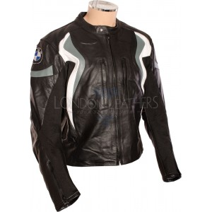 BMW Cruiser Pro Black Leather Motorcycle Jacket