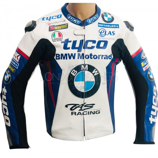 BMW Tyco BSB Sports Replica Leather Biker Jacket
