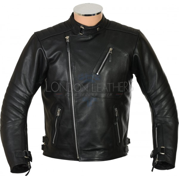 Brando Johnny The Wild One Classic Biker Jacket