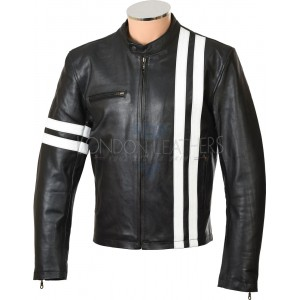 DRIVER San Francisco Soft Black Leather Jacket