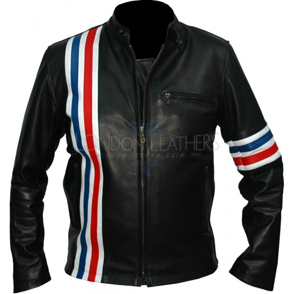 Easy Rider Peter Fonda Leather Motorcycle Jacket