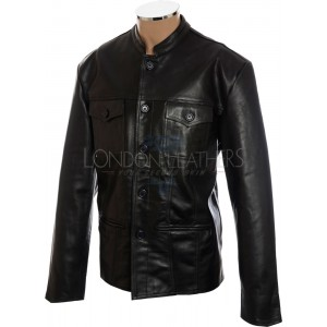 Paul Weller Modfather Leather Club Jacket