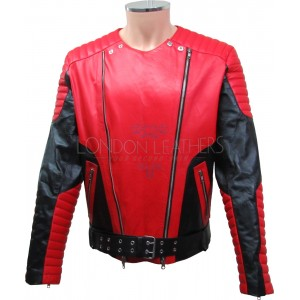 Michael Jackson Leather Thriller Replica Jacket