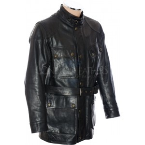 RTX Trialmaster Vintage Black Leather Jacket