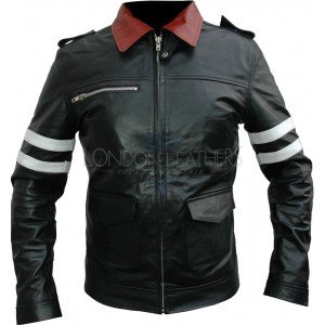 Rebellion Prototype Leather Motorcycle Jacket