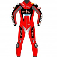 Aruba.it Racing Ducati Team MotoGP Biker One Piece Race Leathers