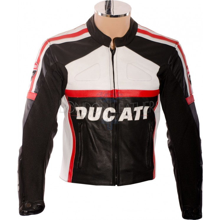 Leather ducati jacket