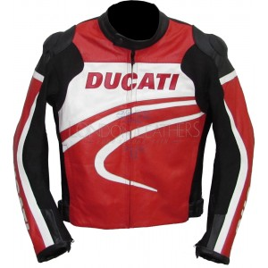 Ducati Monster Racing Leather Motorcylce Jacket