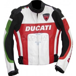 Ducati Superbike Racing CE Leather Motorcycle Jacket