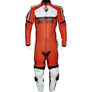 Ducati CLASSIC RED Motorcycle Leather Suit