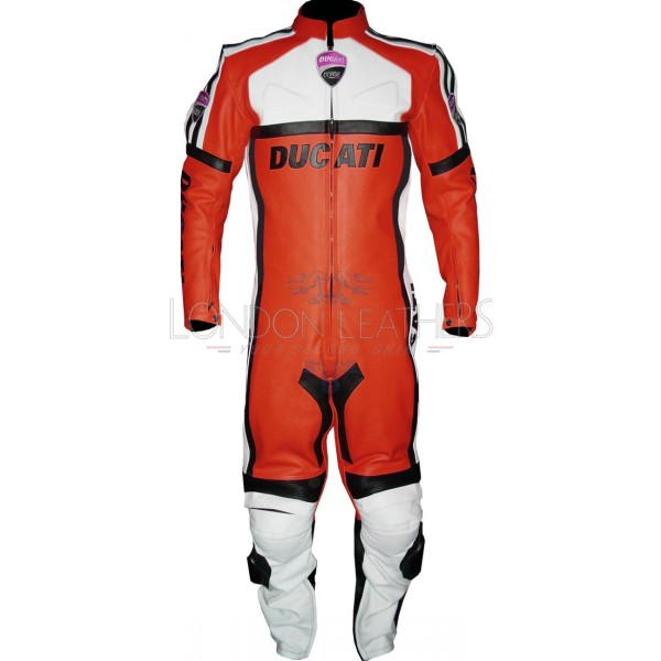 Ducati Classic Corse Leather Motorcycle Suit
