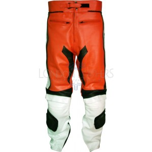 Ducati Corse Classic Leather Motorcycle Trouser