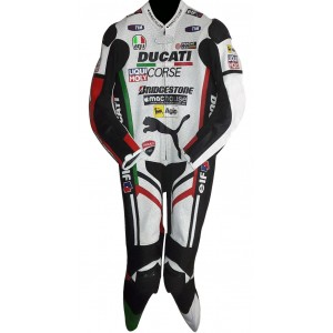 Ducati Corse Panther Biker One Piece Race Leathers