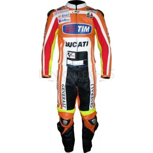 TIM Rossi MotoGP Team Ducati Leather Biker Suit