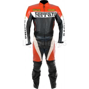 Ferrari Racing Replica CE Leather Motorcycle SUIT