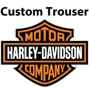 Custom Built Harley Leather Trouser