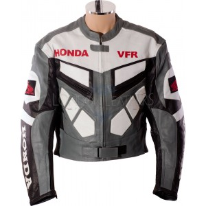 Classic Honda VFR Motorbike Motorcycle Leather Jacket
