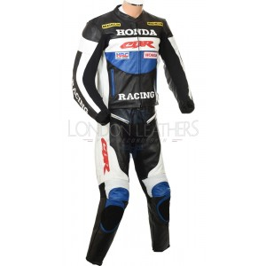 Honda CBR Racing Leather Motorcycle Suit