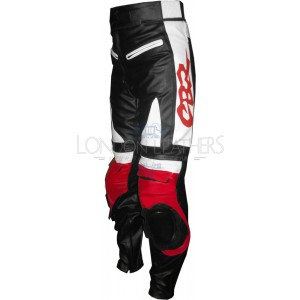 Honda Red CBR Real Leather Motorcycle Pant