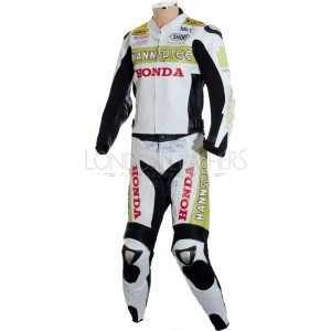 Honda Hannspree Limited Edition Race Leathers