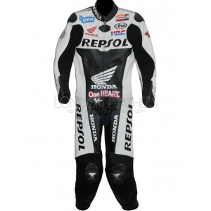 Honda Repsol Black Bikers Suit