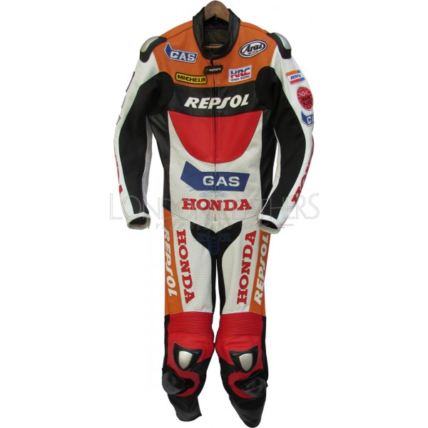 Honda Repsol Gas MotoGP Leather Race Suit
