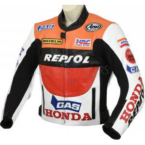 SALE - Honda Repsol GAS Motorcycle Leather Jacket