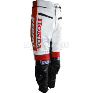 Repsol GAS Leather Motorcycle Trouser Pant