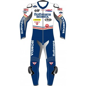 Rothmans Honda Race Leathers Biker Suit