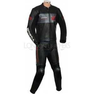 HONDA Gold Wing Leather Motorcycle Two Piece Suit