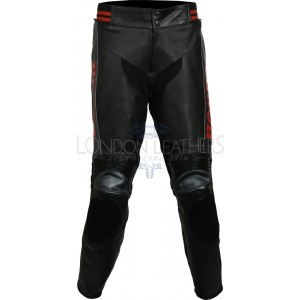 Honda Racing Classic Leather Motorcycle Trouser