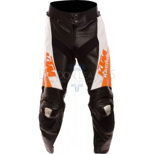 KTM Racing Leather Motorcycle Trouser Pant