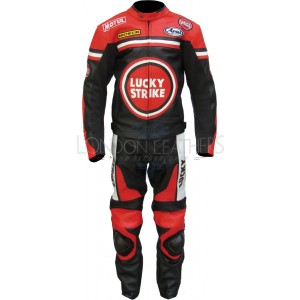 Lucky Strike Red Special Edition Motorcycle Suit