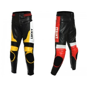 Custom Built Lucky Strike Leather Trouser
