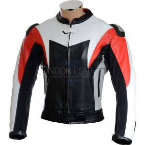 RTX Assassin Leather Motorcycle Biker Jacket