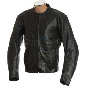 SALE - RTX Retro Classic Black Armoured Motorcycle Jacket