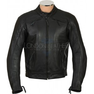 RTX Cruiser Pro Premium Leather Biker Jacket