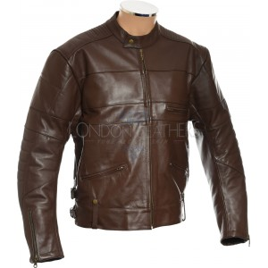Harley Cruiser Classic Leather Motorcycle Biker Jacket