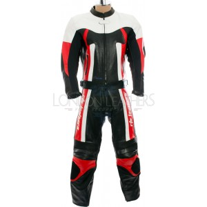SALE - RTX TITAN Red Motorcycle Leather 2Pc Suit
