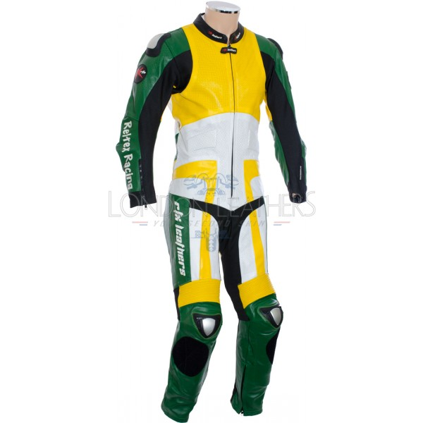 RTX Silverstone British Racing Green Leathers